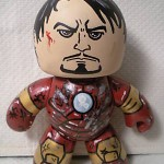 batlle damage iron man custom mighty muggs 2 150x150