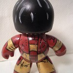 batlle damage iron man custom mighty muggs 3 150x150