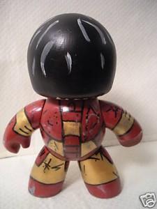 batlle damage iron man custom mighty muggs 3 225x300