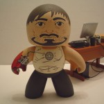 custom mighty muggs tony stark armor testing iron man 4 150x150