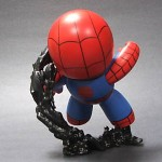 custom mighty muggs spider man vs venom diorama 2 150x150