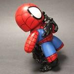 custom mighty muggs spider man vs venom diorama 3 150x150