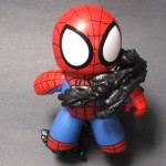 custom mighty muggs spider man vs venom diorama 4 150x150