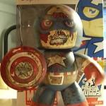 zombie captain america custom mighty muggs 150x150