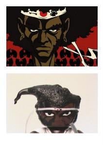 custom mighty mugg afro samurai 2