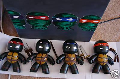 custom mighty mugg teenage mutant ninja turtles tnt