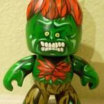 mighty muggs custom painted blanka from street fighter 1 150x150