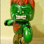 mighty muggs custom painted blanka from street fighter 3 150x150